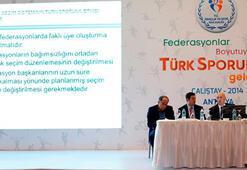 Antalyadaki spor çalıştayı sona erdi