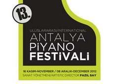 Antalya Piyano Festivali'nden muhteşem program
