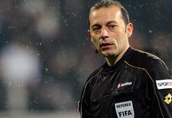 Benfica - Juventus maçı Cüneyt Çakırın