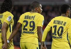 PSGde Neymar & Mbappe işbirliği Gol şov...