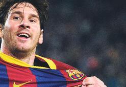 Messi ilk sırada