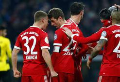 Bayern Münih - Borussia Dortmund: 2-1 (İşte maçın özeti)