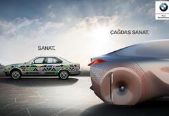 BMW Sanat Otomobilini sergileyecek