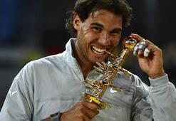 Nadal evinde zirvenin sahibi
