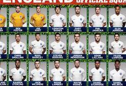 İşte İngilterenin Dünya Kupası aday kadrosu