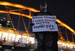 Brezilyada Dünya Kupası protestoları bitmiyor