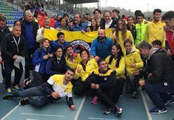 Fenerbahçeli genç atletler Avrupa şampiyonu