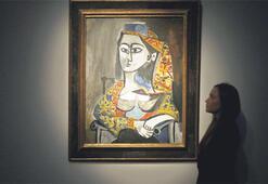 Picasso'nun 'Türk' resmi Londrada gitti gidiyor