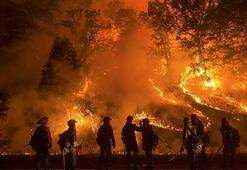 Two fires erupt in California