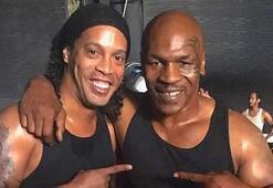 Ronaldinho Mike Tyson aynı filmde