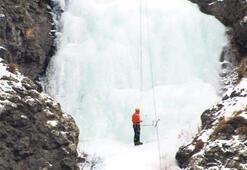 'Buz' gibi tırmanış