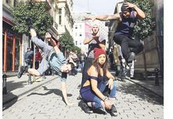 İstanbul'a tepinmeye geldiler