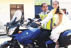 Gelin aracı motosiklet