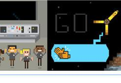 Juno uzay aracı Googleda Doodle oldu