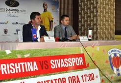 Kosovada Sivasspor heyecanı