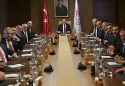 Spor Bakanı Bak, TFF 1. Lig Kulüp Başkanlarını kabul etti