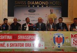 Sivasspor kafilesi Kosovada