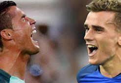 Griezmann-Ronaldo düellosu...