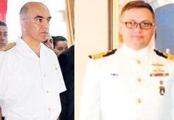 İki amiral geçen yıl terfi almış