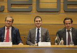 AB Bakanı Çelik İspanyada