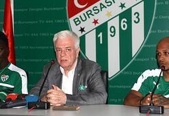 Bursasporun yeni transferleri imzaladı