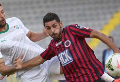 Bursasporlu futbolcuda kırık