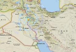 Son dakika: İran - Irak sınırında 5.4 büyüklüğünde deprem