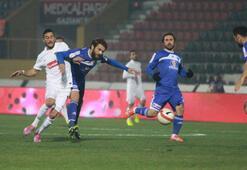 Gaziantepspor - Gaziantep Büyükşehir Belediyespor: 0-0