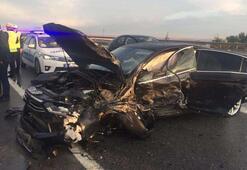 MHP Genel Başkan Yardımcısı Ruhsar Demirel trafik kazası geçirdi