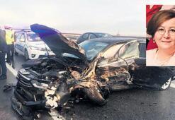 MHP'li Demirel feci kazada yaralandı
