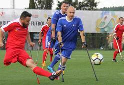 Türkiye Ampute Milli Takımı, Almanyayı 7-0 yendi