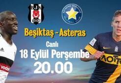 Beşiktaş ,Asteras ile beraber kaldı