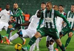 Bursaspor - Trabzonspor: 3-3