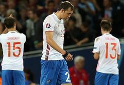 Rusya Futbol Milli Takımı dağıtıldı