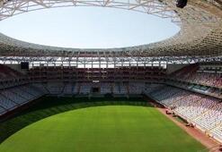 Antalya Arenanın çimleri yenileniyor