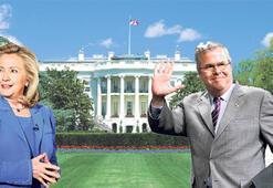 Clinton'a karşı  kardeş Bush