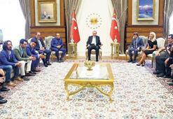 Cumhurbaşkanı Erdoğana ziyaret