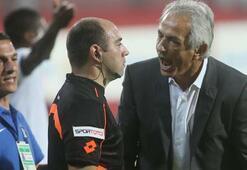 Trabzonsporda şok tartışma Halilhodzic ve...