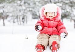Çocukları kar hasta etmez