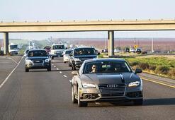 Sürücüsüz Audi ile 900 kilometre