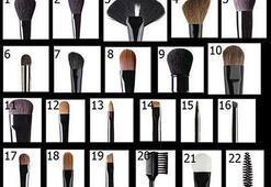 Hangi makyaj fırçası ne için kullanılır