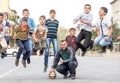 """""""Futbol, Suriyelilerin hayatını değiştirebilir"""""""