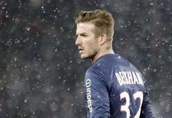 David Beckham asistle başladı