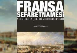 Tarihi Fransa Sefaretnamesi yayınlandı