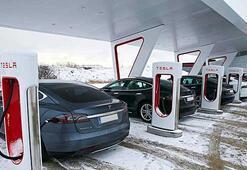 Tesla, Avrupadaki en büyük şarj istasyonunu kuruyor