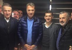 Fikret Orman Beşiktaşlı işadamlarıyla buluştu