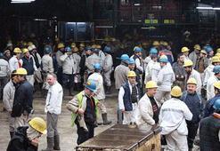 Madencilerin eylemi 21 saat sonra sona erdi