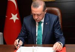 Cumhurbaşkanı Erdoğandan kritik onay