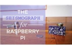 Raspberry Pi Deprem Ölçecek