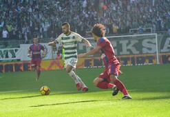 Bursaspor - Kardemir Karabükspor maçından kareler